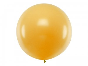 """Balon okrągły 1m, Metallic Gold"""