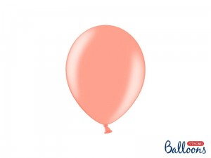"""Balony Strong 23cm, Metallic Rose Gold (1 op. / 100 szt.)"""