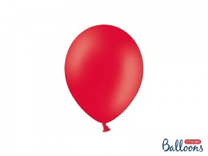"""Balony Strong 23cm, Pastel Poppy Red (1 op. / 100 szt.)"""