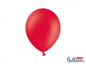"""Balony Strong 27cm, Pastel Poppy Red (1 op. / 10 szt.)"""