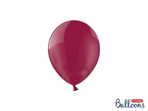 """Balony Strong 12cm, Crystal Maroon (1 op. / 100 szt.)"""