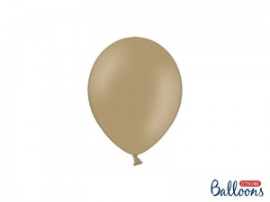 """Balony Strong 12cm, Pastel Cappuccino (1 op. / 100 szt.)"""