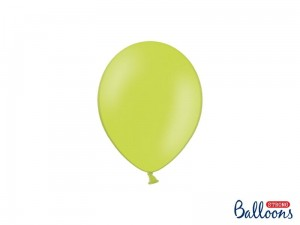 """Balony Strong 12cm, Pastel Lime Green (1 op. / 100 szt.)"""