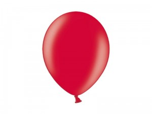 """Balony 27cm, Metallic Cherry Red (1 op. / 100 szt.)"""