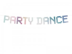 """Baner Electric Holo - Party Dance, opalizujący, 9,5x130cm (1 karton / 50 szt.)"""
